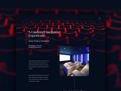 AVI - mockup ui ux layout web design