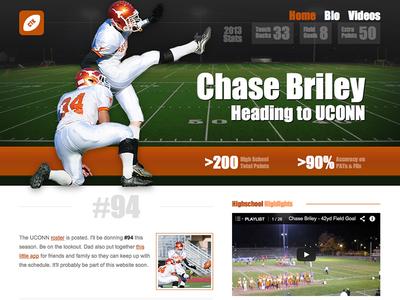 Kicker Recruiting Website