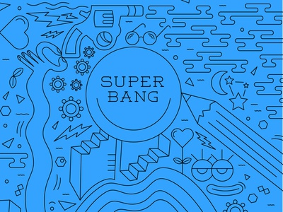 Super Bang Illustration