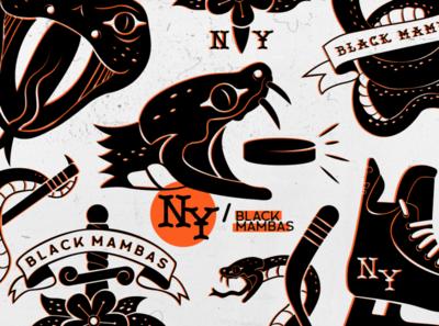 Black Mambas Minor League Hockey Team