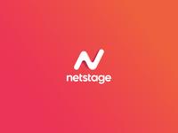 Netstage brand identity
