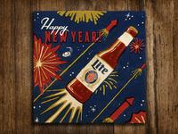 Miller Lite New Year's