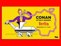 Conan Without Borders: Berlin, Killed Direction 1
