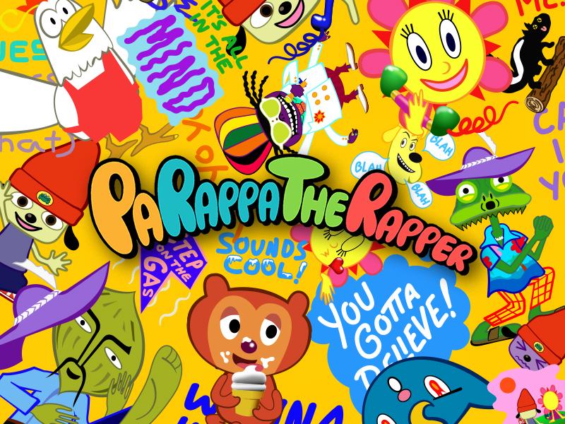 PaRappa Sticker Pack