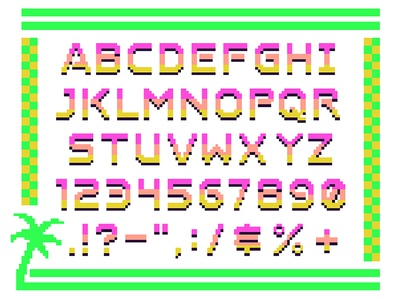 👾 WIP Font of the 16-bit Persuasion 👾