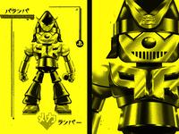 PaRappa Bot Shirt Design
