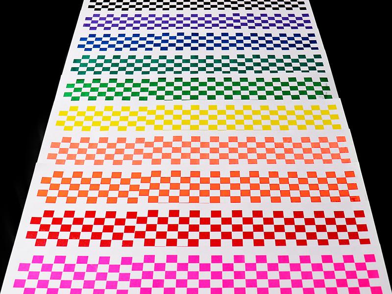 Riso Colors print design rint pride month lgbt rainbow color risography risograph riso