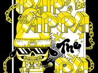 PaRappa Comic Shirt Design