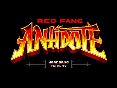 Antidote Title Screen
