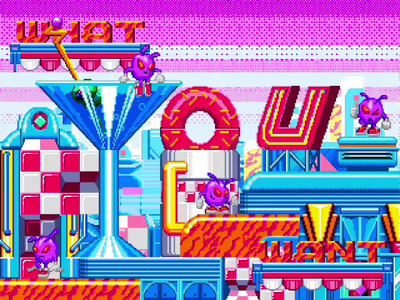 There's Always A Reason + What You Want postmodern gaming handlettering typeforce video art 90s animation video game motion illustration retro pixel art type lettering