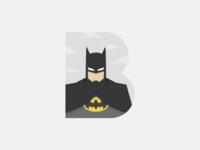 B for Batman