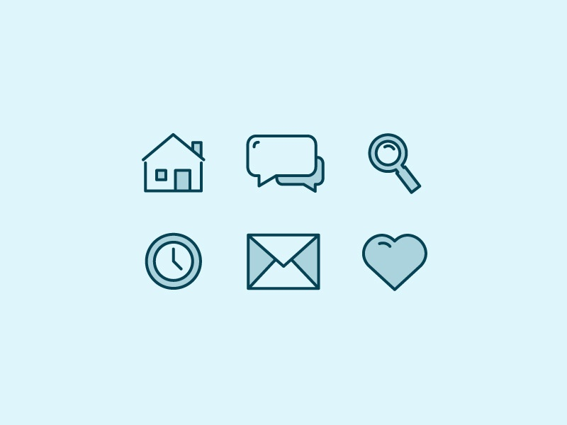 Minimal Line Icons illustration freebies freebie free icons line icons minimal