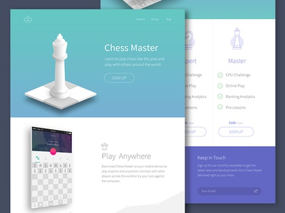 Paul Circle / Projects / Chess Application   Dribbble