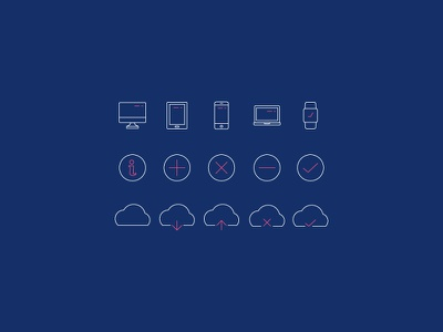 Minimal Line Icons Pack 2 (Ver. 2) vector ui outlines lines icon set icons icon freebies free color