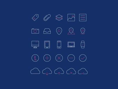 Minimal Line Icons Pack 2 (Ver. 3)