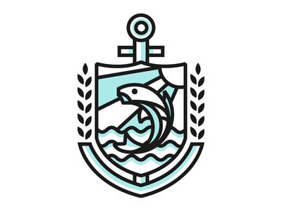 Pesci Family Crest