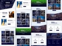 TOC - Original Home Page Design