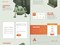 V3 - ViaForge Contact Page Design