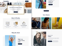Fashion Concept - Home Page