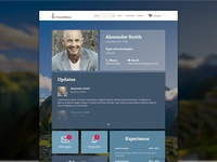 TrowelNation - User Page Design