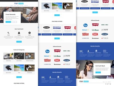 Rw Affiliate - Site Template Design