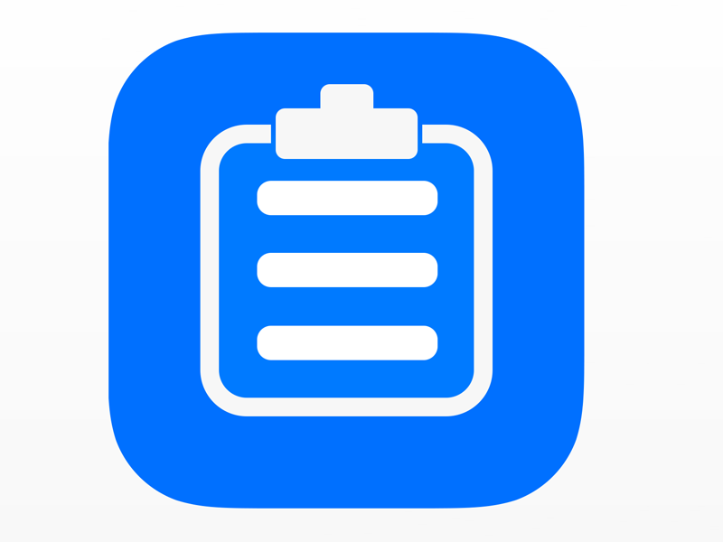 Clipboard Icon ios7 ios8 icon ios iphone ipad