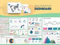 Mega PowerPoint Dashboard Creator