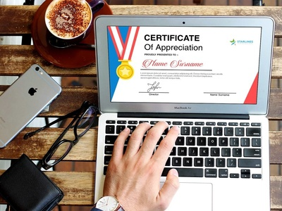 Certificate & Recognition Pack reward badge trophy appreciate achievement award accolade awarddesign quality acknowledgement certify honour award felicitate commemorate microsoft powerpoint template editable certificates awards
