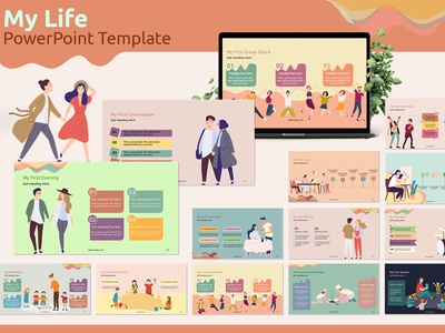 My Life PowerPoint Template