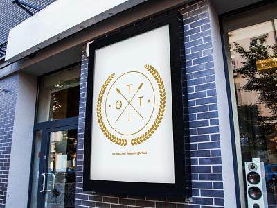 Otti Family Crest Mockup branding logo design