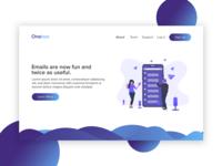 Onebox Website UI