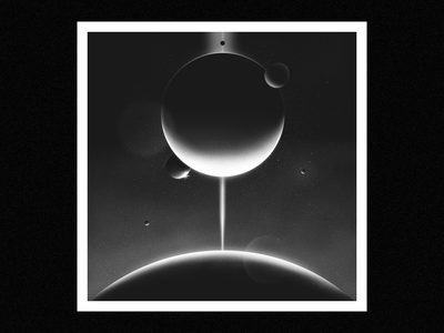 light in the darkness star stars planets planet poster cosmos retro texture space illustration illustrator design adobe