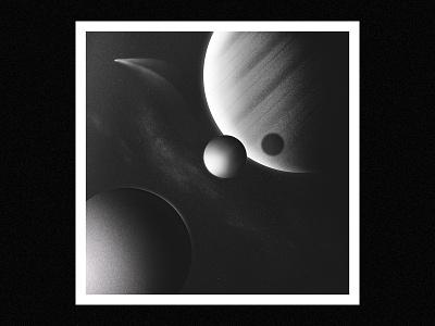 Comet poster ipad procreate cosmos retro texture space 2d illustration illustrator design adobe