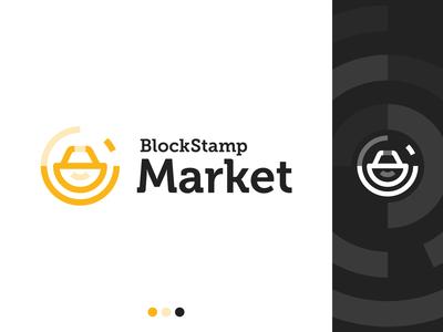 Logotype of BlockStamp Market