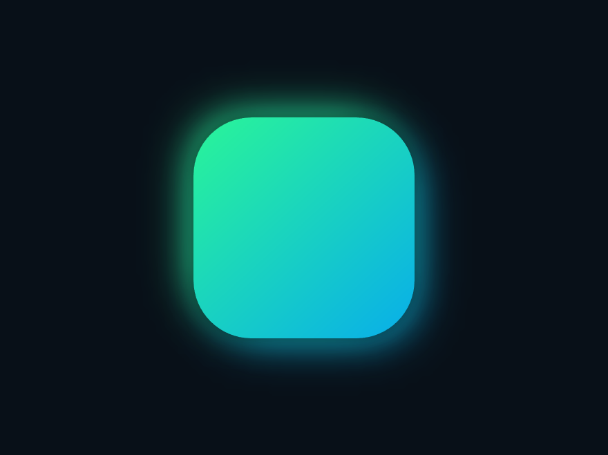 CSS Glow Icon glow in the dark icon css