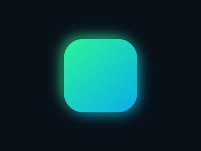 CSS Glow Icon