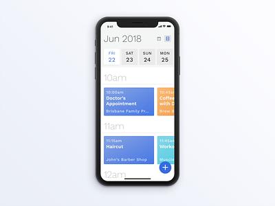 Calendar App Idea calendar app calendar mobile mobile ui ui