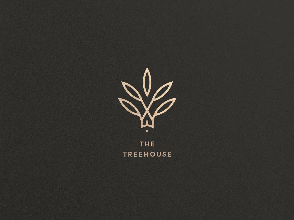 The Treehouse branding identity branding monogram logo branding