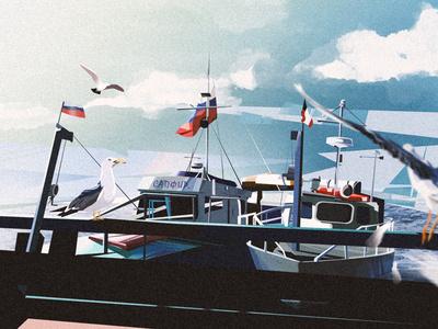 Озеро Байкал illustration