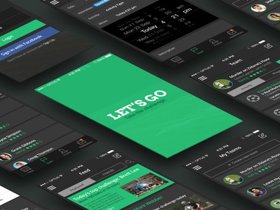Let's Go - Mobile App Design