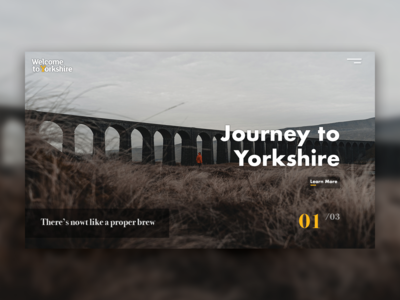 Welcome to Yorkshire Landing Page