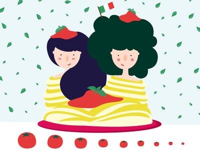 Spaghetti Ladies.