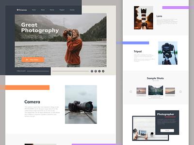 Photography Website photograhy marketing agency webdesign web design