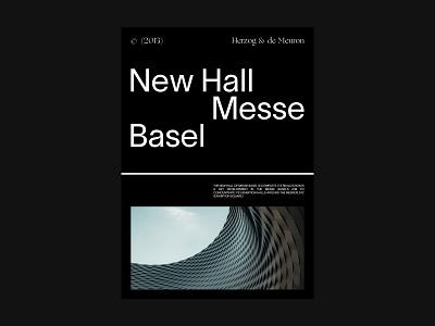 Herzog & de Meuron Architecture Studio studio architecture concept editorial ux ui ui design branding typography minimal design clean