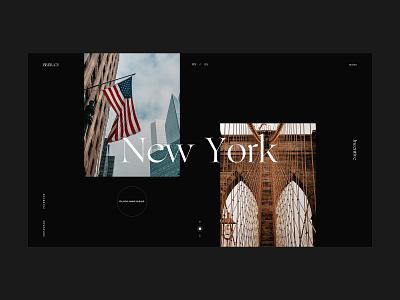 Brera incentive slide and drag navigation new york incentive events luxury branding website webdesign web ux ui design ui typography minimal design clean