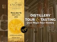 Distillery Tour Flyer