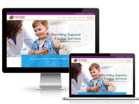 Heart Center For Children Website Design