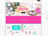 All Girl Shave Club Website
