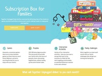 Cratejoy design for Together Unplugged Subscription Box