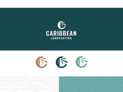 Brand Board branding pattern caribbean logo landscaping landscape